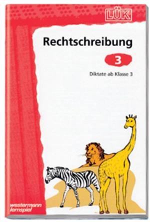 LÜK Lük Rechtschreibung 3Diktate 65900843