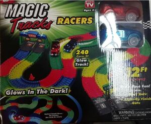 Magic Tracks Racers Set inkl. 2 Autos INTMTRAC