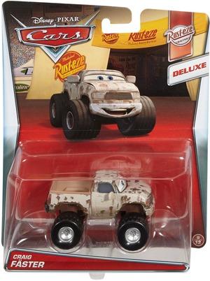Matchbox Disney Cars Deluxe Fahrzeug Craig Fäster DHL03