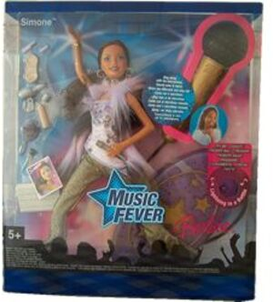 Barbie Music Fever Simone, mit viel 18492