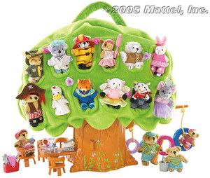 Mattel Furryville Picknick Baum 22104