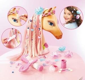Barbie Pferdefrisurenkopf Mattel;37566