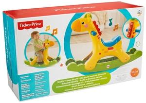 Fisher-Price Schaukel Giraffe ab 12 Monaten, mit Musik und Licht, Batterien 3xAA exkl. 40300007