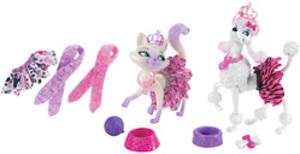 Barbie Modezauber Tierstyl Tierstyling-Set in Tasche, mit viel Zubehör, 3+. 57003358