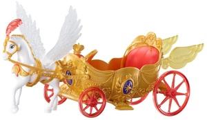 Barbie Königliche Kutsche mit geflügeltem Pferd und Musik, Batterien inkl. 57006652