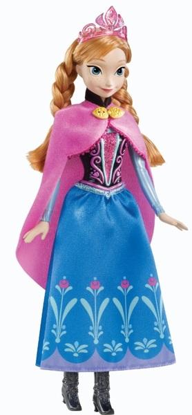 Disney Die Eiskönigin Disney Die Eiskönigin Anna, Disney Frozen mit typischem Filmoutfit in wunderschönen Farben 57009958