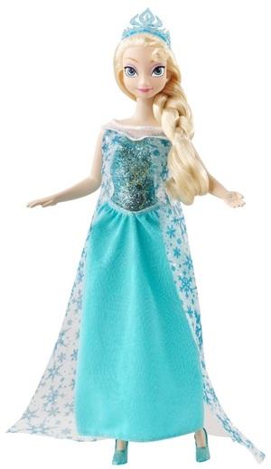 Musik Prinzessin Elsa Disney Frozen, ab 3 Jahren, Knopfbatterien 3xLR44 inkl. 57009967
