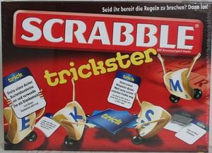 Mattel Scrabble Trickster, deutsch ab 10 Jahren, 2-4 Spieler, mehr Abwechslung und Spass 60503076