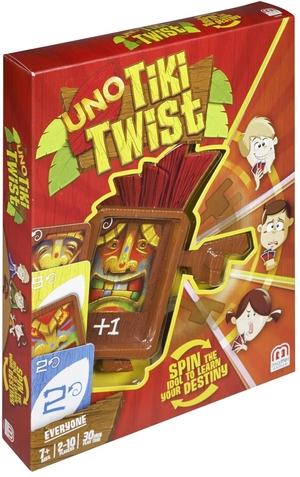 Mattel UNO Tiki Twist ab 7 Jahren, 2-10 Spieler, UNO mit einem neuen Dreh! 60500909