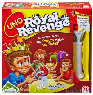 Mattel Games UNO Royal CGH10