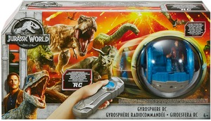 Matchbox Jurassic World Gyrosphere R/C, Matchbox, Batterien 4xAA + 3xAAA exkl. ab 4 J. 30306011