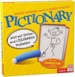 Mattel Pictionary, d ab 8 Jahren, 2-4 Spieler, noch rasanterer Spielspass 60500087