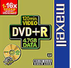 Maxell Maxell DVD+R 4.7/120 V-Box 5er Pack 275466