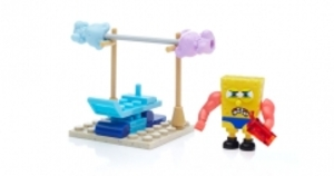 MEGA BLOKS MEGA BLOKS Spongebob Schwammkopf - Verrücktes Trainings-Set CNF63