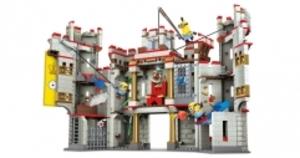 MEGA BLOKS Minions London- Burg, 786 Teile, 3 Figuren, ab 5 Jahren 40400039