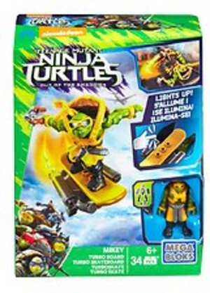 MEGA BLOKS Teenage Mutant Ninja Turtles Movie 2 - Turboskateboard Mickey DPF76