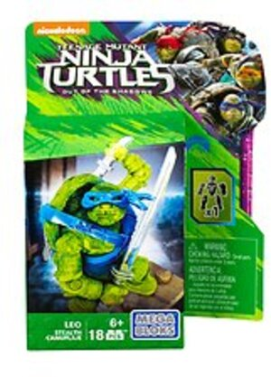 MEGA BLOKS Teenage Mutant Ninja Turtles Movie 2 - Tarnmodus Leo DPW13