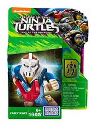 MEGA BLOKS Teenage Mutant Ninja Turtles Movie 2 - Casey Jones DPW15