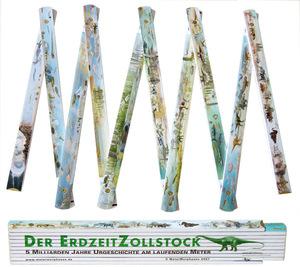 MeterMorphosen Erdzeitzollstock - Urgeschichte am laufenden Meter MET00175