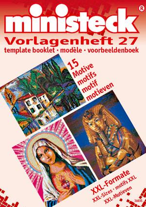 Ministeck Vorlagenheft 27 XXL-Formate, Vorlageheft 27, 15 Motive 63631035