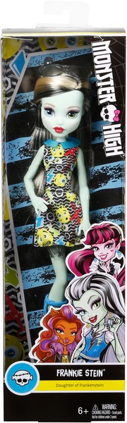 Monster High Basis Puppe Emoji Frankie Stein DVH19