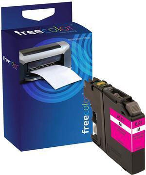Neutral FREECOLOR - Ink - Brother DCPJ 525 W Magenta BR123MINKFRC