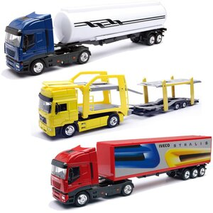 New-Ray 1:43 Iveco Stralis 3 ass. (eines wird geliefert) 4115613IA