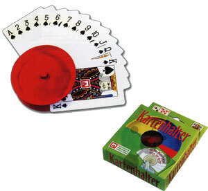 Nürnberger-Spielkarten-Verlag Kartenhalter Kunststoff ass ** 7200A1