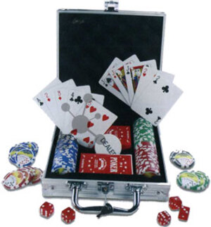 Nürnberger-Spielkarten-Verlag 100er Pokerset Royal Flush **