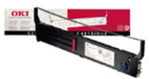 OKI Farbband Nylon schwarz 40629303