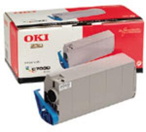 OKI Toner schwarz für C7200,N,DN, C7400 41304212