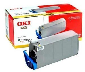 OKI Toner, yellow 41963005