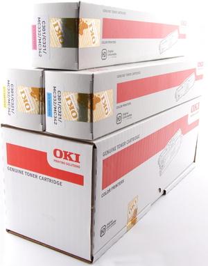 OKI OKI Rainbow Toner-Set bestehend aus je 1x 44973536, 44973533, 44973534, 44973535 C321Set