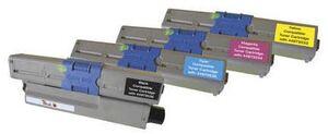 PEACH Toner C301/321 Combi Pack bk, c,m,y 111653