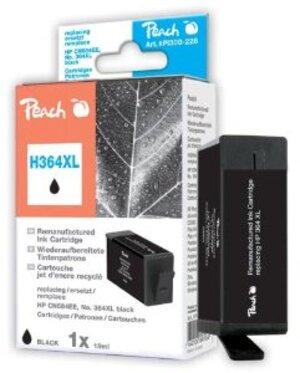 PEACH Tintenpatrone 364XL schwarz PI300-359