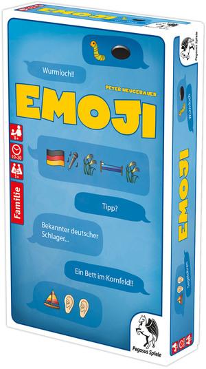 Pegasus Spiele Emoji, d Bilderrätsel ab 8 Jahren, für 1 oder mehrere Spieler 62620012