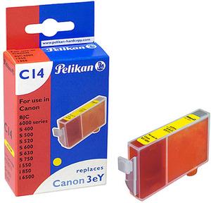 Pelikan Canon für 244957001 BJC-3000, 6000, 6100, 6200, 6500 / i550, i850, i6500 / S400, S450, S500, S520, S530D, S600, S630, S750, S4500, S6300 335111