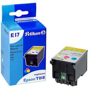 Pelikan T018 401 für Epson Stylus Color 680, 685, 777, 777i - mit Chip 337542