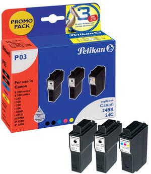 Pelikan 3 Ink cartridges 353498
