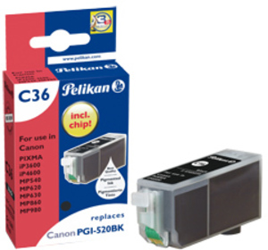 Pelikan INK CARTRIDGE (PGI-520 BK) 4103239A1