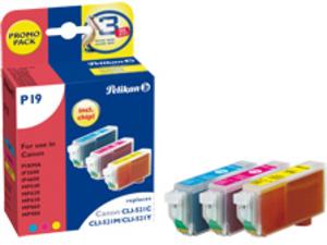 Pelikan Tinte 3-farbig (Canon CLI-521) 4103291