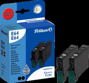 Pelikan Tinte T12914010, schwarz, 2x12ml 4106964