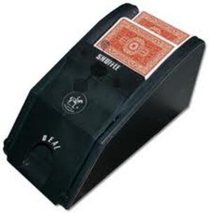 Piatnik Kartenmischmaschine automatisch inkl. Kartenschlitten 6828029