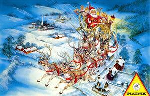 Piatnik Weihnachten / Christmas, 1.000 T. 5608