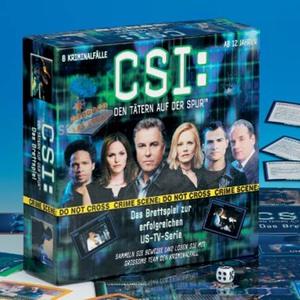 CSI - Brettspiel Piatnik;6436