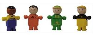 PlanToys Plan Toys PLAN CITY GESCHAEFTSLEUTE 280160400