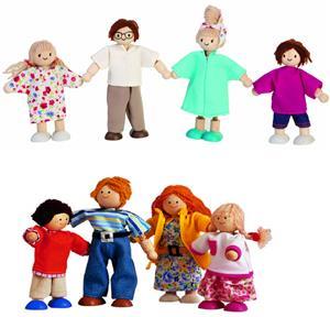 PlanToys Puppenfamilie modern 28127142