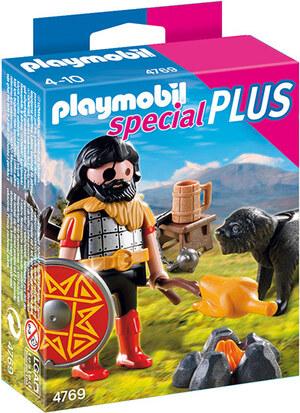 playmobil Barbar mit Hund am Lagerfeuer 4769