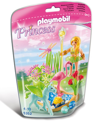 """playmobil Sonnenfee mit Pegasusbaby """"Sommerwind"""" 5352A3"""