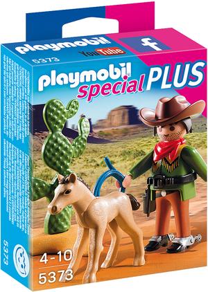 playmobil Cowboy mit Fohlen 5373